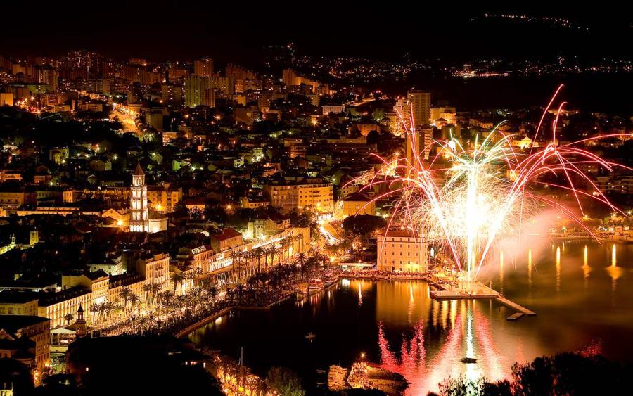 New Year's Eve in Split