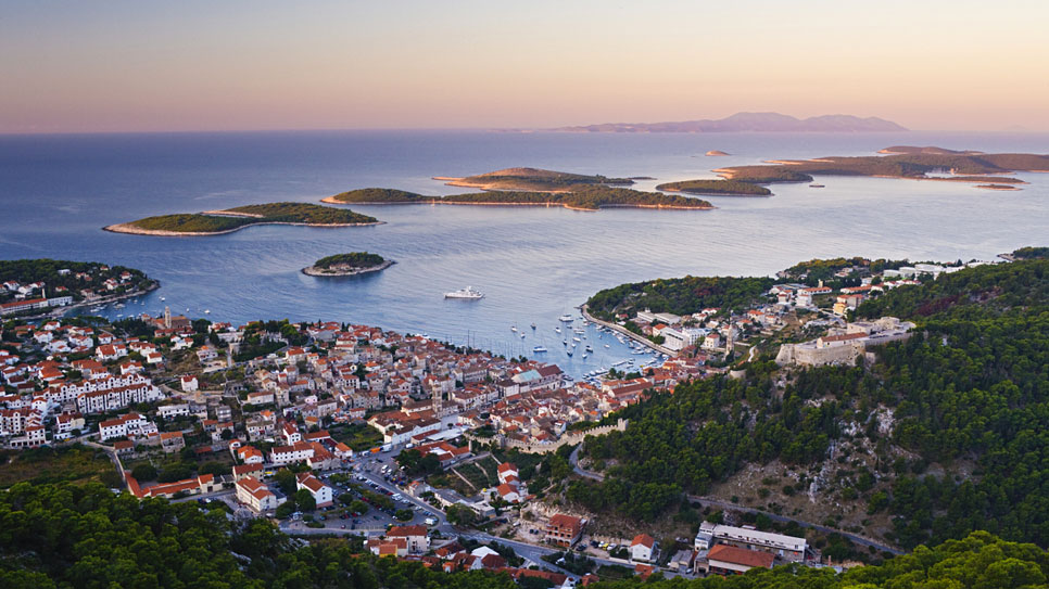 Islands around Split: Šolta, Hvar, Brač, Vis