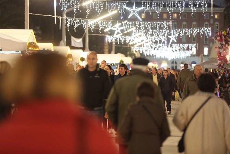 Christmas fair in Split